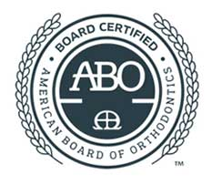 ABO Seal at MK Orthodontics in Waterville and Augusta ME