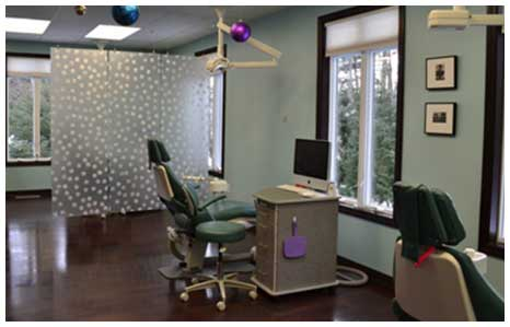 Office Tour Operetory at MK Orthodontics in Waterville and Augusta ME